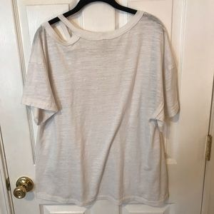 Free People Tops - Free People Off the Shoulder T shirt Small